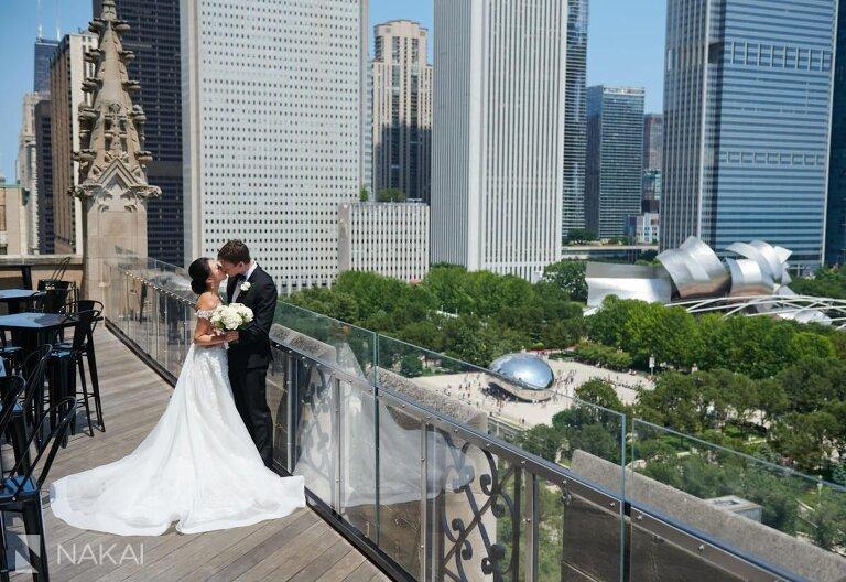 university club of chicago wedding photos bride groom