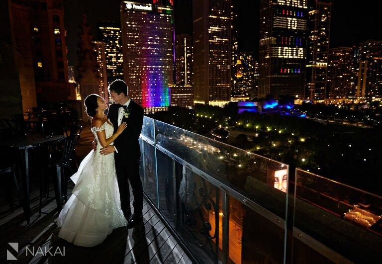 university club of chicago wedding photographer bride and groom