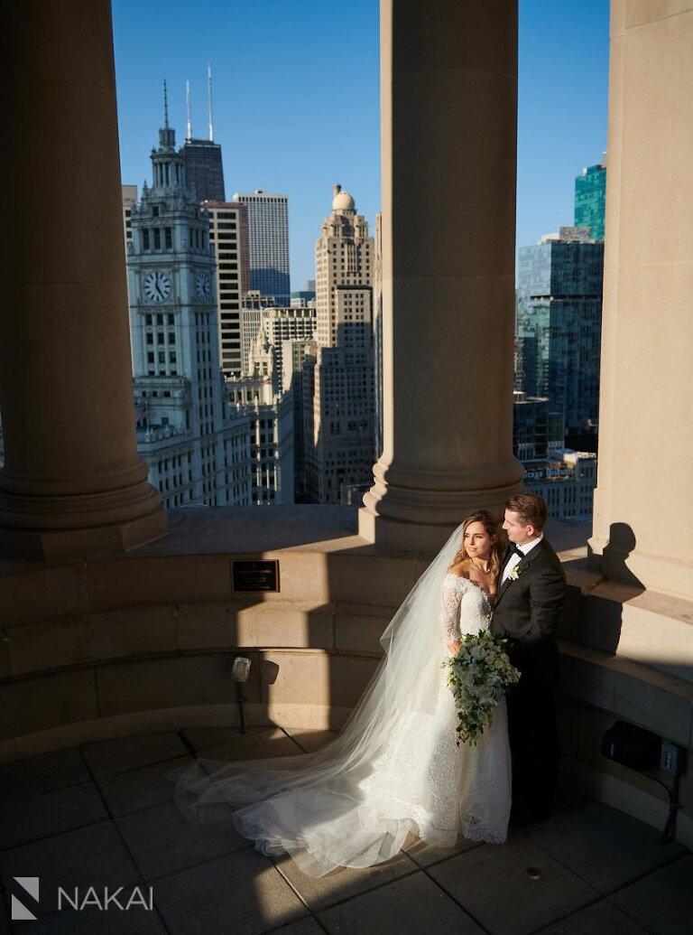 londonhouse wedding photographer cupola chicago bride groom